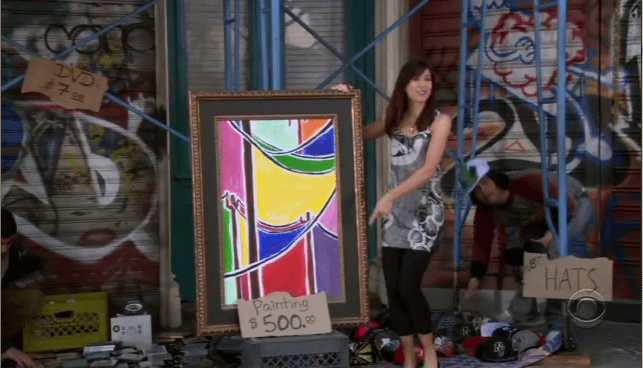"Lily Aldrin, la ""peintre"" d'How I Met Your Mother..!"