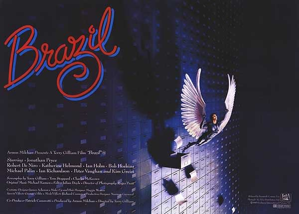 Affiche du film Brazil réalisé par Terry Gilliam