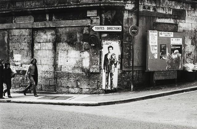 Rimbaud en jean par Ernest Pignon Ernest