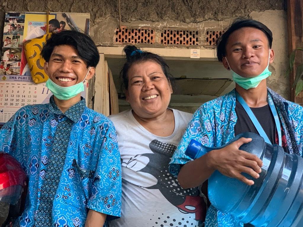 Jeunes LP4Y Indonésie