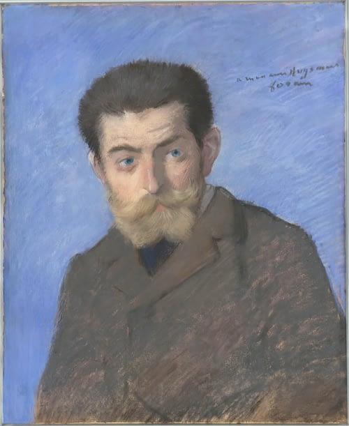 Huysmans peint par J-L Forain
