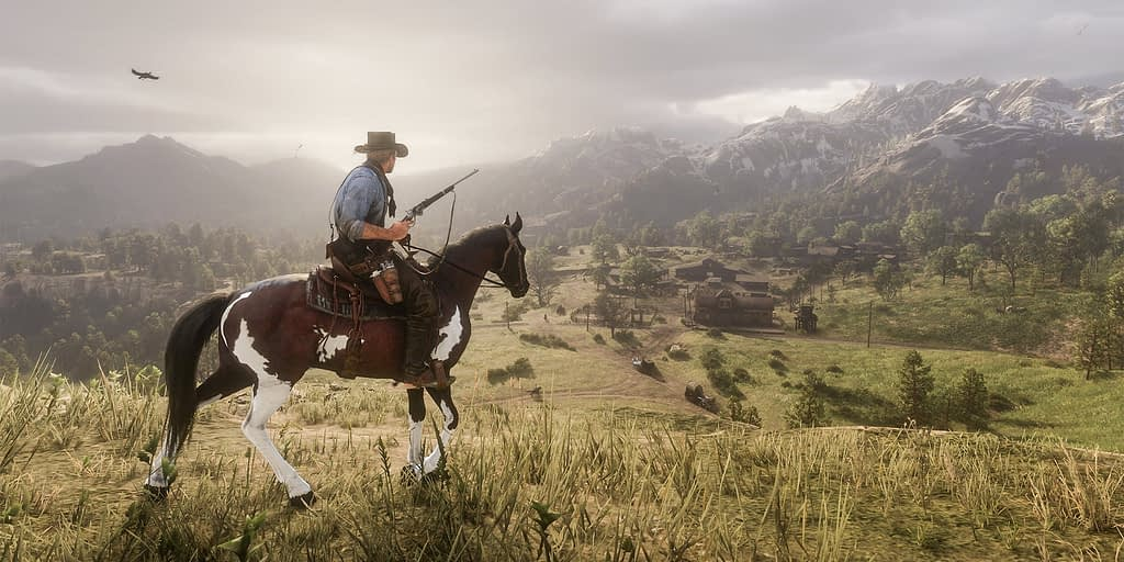 Capture d'image du jeu Red Dead Redemption II