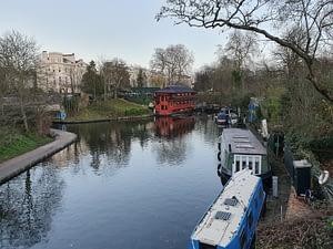 Jogging le long du Regent's canal